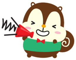 Squly & Friends: Happy Forest sticker #71034