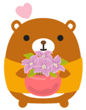 Squly & Friends: Happy Forest sticker #71040