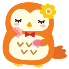 Squly & Friends: Happy Forest sticker #71042