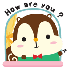 Squly & Friends: Happy Forest sticker #71046
