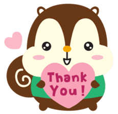 Squly & Friends: Happy Forest sticker #71050