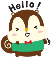 Squly & Friends: Happy Forest sticker #71055