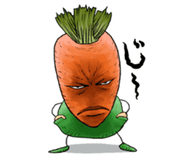 MIX-VEGETABLES - carrot sticker #71153