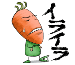 MIX-VEGETABLES - carrot sticker #71156