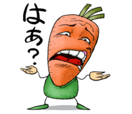 MIX-VEGETABLES - carrot sticker #71157