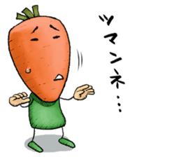 MIX-VEGETABLES - carrot sticker #71167
