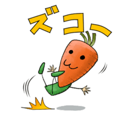 MIX-VEGETABLES - carrot sticker #71170