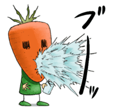 MIX-VEGETABLES - carrot sticker #71171
