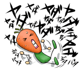 MIX-VEGETABLES - carrot sticker #71174