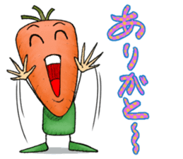 MIX-VEGETABLES - carrot sticker #71177