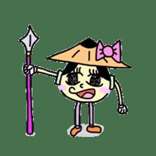Jihen & Ran sticker #71863
