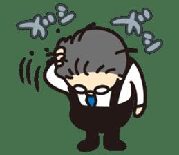 "Go for it! ""Ya-san!"" sticker #72138"