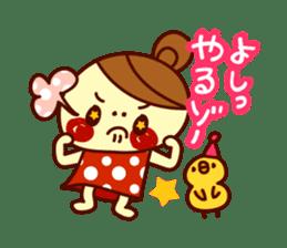 odangochan sticker #73235