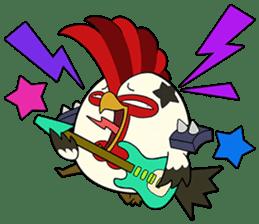 ChickenMan sticker #73268