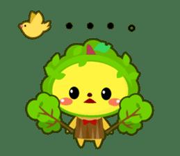 KAWAII Creature Colloru sticker #73342
