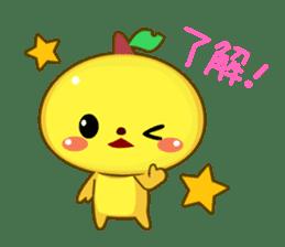 KAWAII Creature Colloru sticker #73345