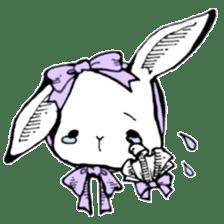 Sweet KAWAII Lolita bunnies sticker #73358