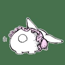 Sweet KAWAII Lolita bunnies sticker #73361