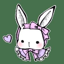 Sweet KAWAII Lolita bunnies sticker #73363