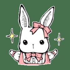 Sweet KAWAII Lolita bunnies sticker #73365