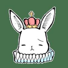 Sweet KAWAII Lolita bunnies sticker #73366