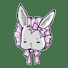 Sweet KAWAII Lolita bunnies sticker #73367