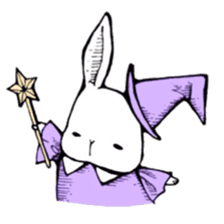 Sweet KAWAII Lolita bunnies sticker #73368
