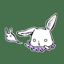 Sweet KAWAII Lolita bunnies sticker #73370