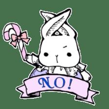 Sweet KAWAII Lolita bunnies sticker #73372