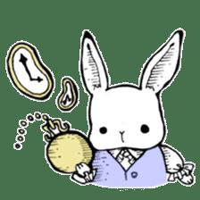 Sweet KAWAII Lolita bunnies sticker #73373