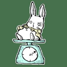 Sweet KAWAII Lolita bunnies sticker #73374