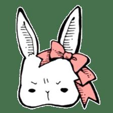 Sweet KAWAII Lolita bunnies sticker #73379