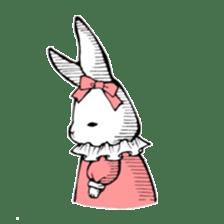 Sweet KAWAII Lolita bunnies sticker #73381