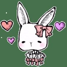 Sweet KAWAII Lolita bunnies sticker #73386