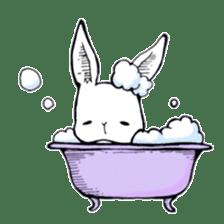 Sweet KAWAII Lolita bunnies sticker #73387