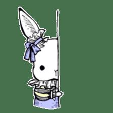 Sweet KAWAII Lolita bunnies sticker #73388
