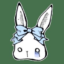 Sweet KAWAII Lolita bunnies sticker #73392