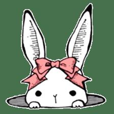 Sweet KAWAII Lolita bunnies sticker #73395