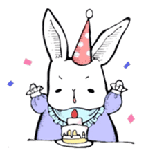 Sweet KAWAII Lolita bunnies sticker #73397