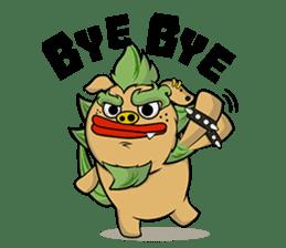 Okinawa Characters sticker #74017
