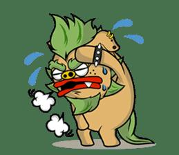 Okinawa Characters sticker #74028
