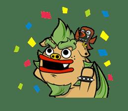Okinawa Characters sticker #74035