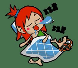 Okinawa Characters sticker #74050