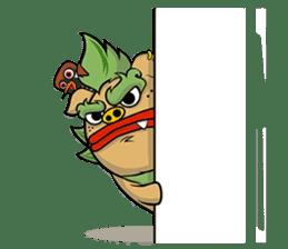 Okinawa Characters sticker #74052