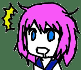 downgradeicon's Girl sticker #74068