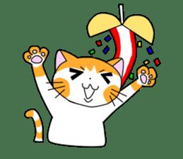 3 sisters' cat sticker #74256