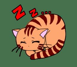 3 sisters' cat sticker #74258