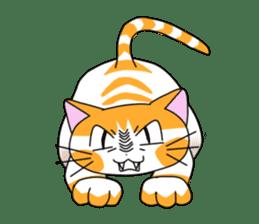 3 sisters' cat sticker #74261