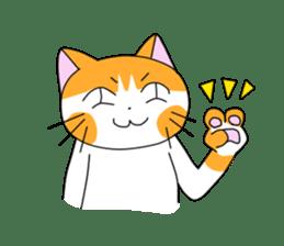 3 sisters' cat sticker #74270