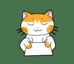 3 sisters' cat sticker #74281